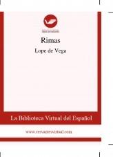 Libro Rimas, autor Biblioteca Miguel de Cervantes