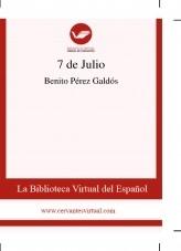 Libro 7 de Julio, autor Biblioteca Miguel de Cervantes