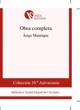 Libro Obra completa, autor Biblioteca Miguel de Cervantes