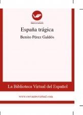 Libro España trágica, autor Biblioteca Miguel de Cervantes
