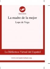 Libro La madre de la mejor, autor Biblioteca Miguel de Cervantes