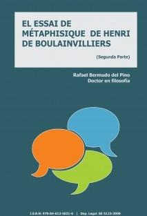 EL ESSAI DE MÉTAPHISIQUE DE HENRI DE BOULAINVILLIERS
