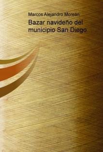 Bazar navideño del municipio San Diego