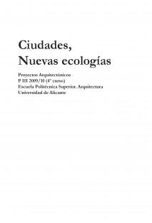 Ciudades, nuevas ecologías