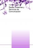 Redes, Sistemas y Servicios de Comunicación