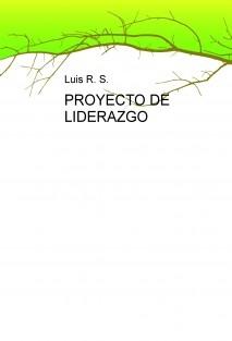 PROYECTO DE LIDERAZGO