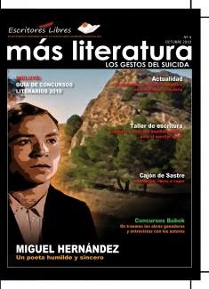 Más Literatura - nº 4 - Octubre 2010 - Formato Ebook