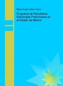 Programa de Resultados Electorales Preliminares en el Estado de México