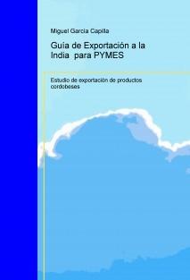 Guía de Exportación a la India  para PYMES