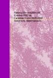 Resolución completa del Examen PAU de Canarias.Curso 2005-2006 Setiembre. Matemática II.