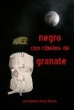 Negro con ribetes de granate