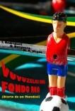 Vuvuzelas sobre fondo rojo (Diario de un Mundial).