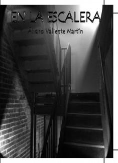 En la escalera