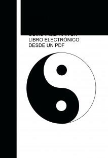 CÓMO INSERTAR UN LIBRO ELECTRÓNICO DESDE UN PDF