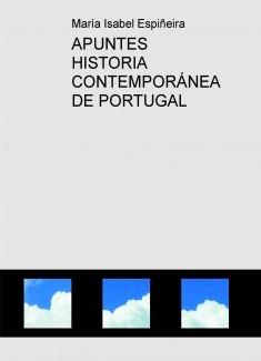 APUNTES HISTORIA CONTEMPORÁNEA DE PORTUGAL
