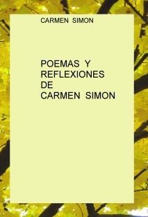 Poemas y Reflexiones de Carmen Simón