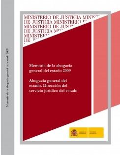 MEMORIA DE LA ABOGACÍA GENERAL DEL ESTADO 2009