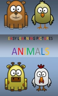 EASY LEARNING PICTURES. ANIMALS.