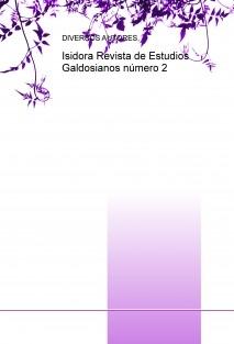 Isidora Revista de Estudios Galdosianos número 2