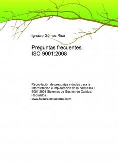 Preguntas frecuentes. ISO 9001:2008