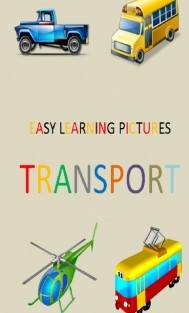 EASY LEARNING PICTURES. TRANSPORT.