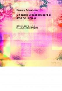 Unidades Didácticas para el área de Lengua