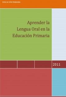 Aprender la Lengua Oral en la Educación Primaria