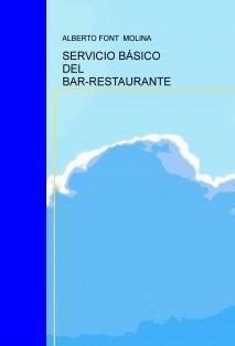 SERVICIO BÁSICO DEL BAR-RESTAURANTE