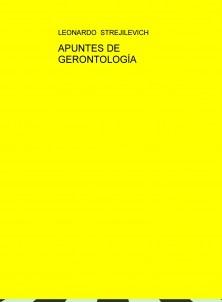 APUNTES DE GERONTOLOGÍA