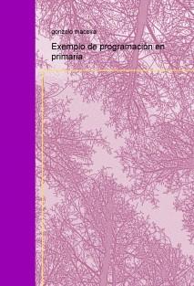 Exemplo de programación en primaria