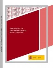 Libro MEMORIA DE LA ABOGACÍA GENERAL DEL ESTADO 2008, autor Ministerio de Justicia