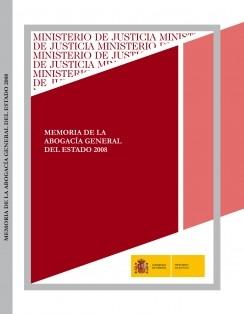 MEMORIA DE LA ABOGACÍA GENERAL DEL ESTADO 2008