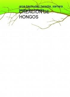 CREACIÓN DE HONGOS Y O SETAS