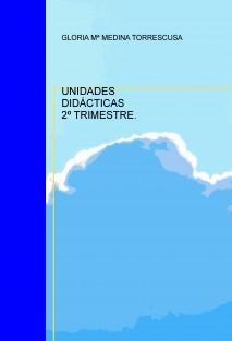 UNIDADES DIDÁCTICAS 2º TRIMESTRE.