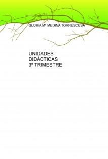 UNIDADES DIDÁCTICAS 3º TRIMESTRE