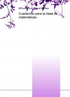 Cuadernillo para la clase de matemáticas