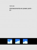 microeconomía en power point - III -