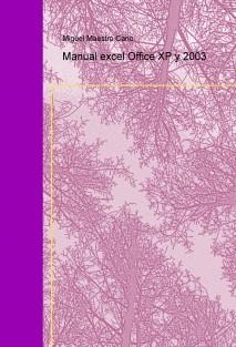 Manual excel Office XP y 2003