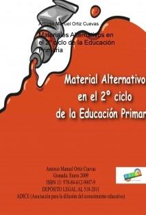 Materiales Alternativos en el 2º ciclo de la Educación Primaria