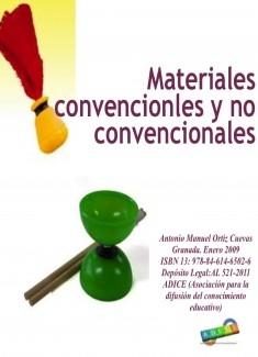 Materiales convencionales y no convencionales