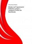 Modelo de Programación Didáctica Lengua y Literatura Primero de Bachillerato