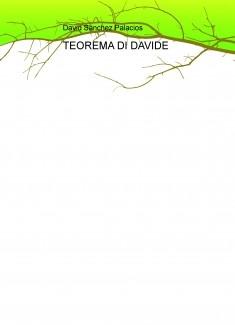 TEOREMA DI DAVIDE
