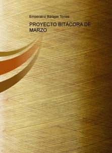 PROYECTO BITÁCORA DE MARZO