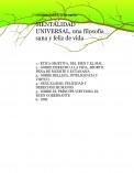 MENTALIDAD UNIVERSAL; un libro, una gran filosofía de vida, Crist Carter