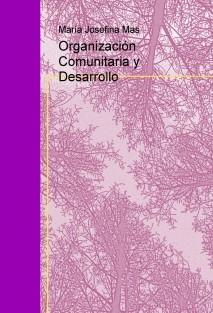 Organización Comunitaria y Desarrollo
