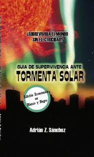 Guía de Supervivencia ante Tormenta Solar (blanco y negro)