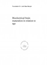 Bioelectrical brain maturation in relation to age