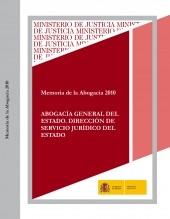 Libro MEMORIA DE LA ABOGACÍA 2010, autor Ministerio de Justicia