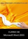 Curso de Word 2003