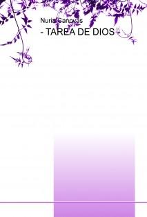 - TAREA DE DIOS -